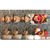 Wholesale ATBC-PVC Christmas Bath Duck Toys Set / Reindeer Rubber Duck With 3 Baby from china suppliers