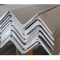 Quality Equal / Unequal Type Stainless Steel Angle Bar Grade 304 316L Thickness for for sale