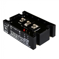 Wholesale NO Indicator High Power Electronic 5A 15-28VDC SSR Relay from china suppliers