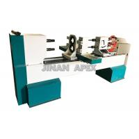 Wholesale Double Rotary Cbenchtop Wood Lathe , Four Blades Wood Turning Lathe Machine from china suppliers