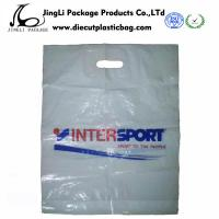 Wholesale Die Cut Patch Handle Bags for Supermarket , Plastic packing bag from china suppliers