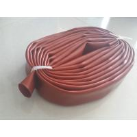 Wholesale Red Silicone Sleeve Silicone Tube Extrusion For Corona Roller Maximum 2m length from china suppliers