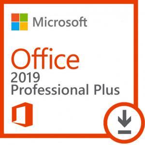 China Multi Language Microsoft Office 2019 Key Code Retail Box Medium Sized Businesses on sale