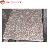 Wholesale G687 Peach Flower Red Granite Stone Slabs For Bathroom Wall Tiles from china suppliers