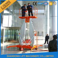 Wholesale Mobile Aerial Working Electric Lift LadderRenting Scaffoldingwith 4 Wheels from china suppliers