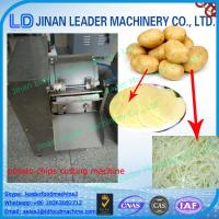 Wholesale Carrot shredder cucumber potato chips cutting machine from china suppliers
