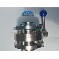 Wholesale Stainless Steel Food Grade Manual Welded Butterfly Valve (ACE-DF-1A) from china suppliers
