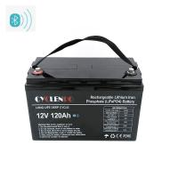 Wholesale Lifepo4 lithium ion battery 12v 120ah, Smart APP controlled battery from china suppliers
