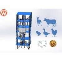 Buy cheap Engineers Design 3D Drawing 10T/H Animal Feed Pellet Production Line from wholesalers