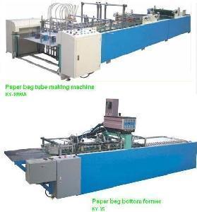 paper bag manufacturing machine