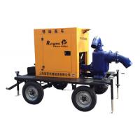 Wholesale Irrigation / Sewage Diesel Engine Water Pump With 6 Cylinder / 4 Stroke from china suppliers