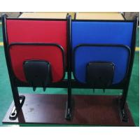 Buy cheap Metal Frame Soft Foam School Desk And Chair With Foldable Iron Writing Pad from wholesalers