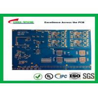 Wholesale Blue Solder Mask 14 Layer GPS Circuit Board FR4 TG180 10 BGA PCB from china suppliers