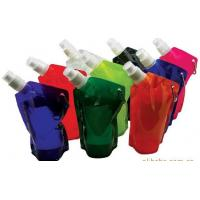Buy cheap Foldable Water Bag Stand Up Pouch With Spout For Juice , Oil , Gel , Liquid from wholesalers