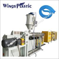 Wholesale PE PP Hose Protector Making Machine / Spiral Sheath Tube Production Line from china suppliers