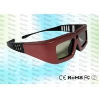 Wholesale Red Iron Cinema IR Active Shutter Adult 3D Glasses GT100 Use For 3D Cinema from china suppliers