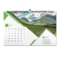 China Monthly Print On Demand Wall Calendar Customized Size For Advertising on sale