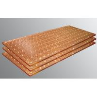Wholesale 1 Inch Thick Steel Copper Mould Plate , Large Stamped Copper Sheets For Roofing from china suppliers