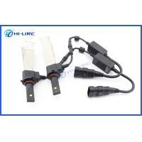 Wholesale waterproof LED universal car headlamp 2500lm Philips lighting 9005 HB3 Fanless driving lights from china suppliers