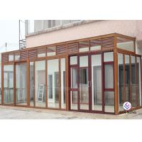 China Varies Color Aluminum Casement Windows And Doors European Standard 6063 T5/T6 on sale