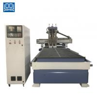 Buy cheap Taiwan syntec control system Double work table CNC Woodworking router machine from wholesalers