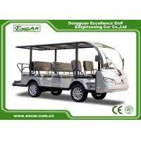 Wholesale Silver 11 Seater Electric Sightseeing Bus 7.5KW KDS Motor 1 Year Warranty from china suppliers