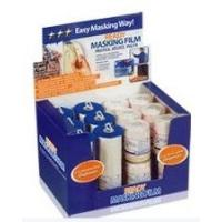 Buy cheap pre-taped masking film with display box from wholesalers