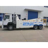 China New LHD 10wheels Sinotruck HOWO 6*4 20T-30T Road Wrecker Tow Truck Euro 2 on sale