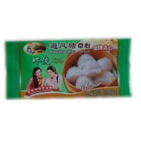 China Middle Sealed Frozen Food Packaging , Dumpling Laminated Plastic Pouch on sale