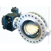 Wholesale Bidirectional API609 Metal Seal Butterfly Valve Replaceable Seat B16.47 from china suppliers
