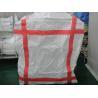 circle square bottom 1 Ton Bulk Bags , mining Chemical powder big bag