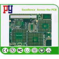 Buy cheap FR-4 Material PCB Printed Circuit Board 0.25mm-0.60mm Plugging Vias Capability from wholesalers