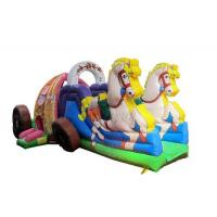 Wholesale Beautiful Commercial Inflatable Water Slides , Carriage Style Blow Up Water Slide from china suppliers