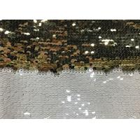 Wholesale Double Sided Glitter Sequin Fabric Environmental Friendly Sublimation from china suppliers