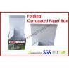 Foldable Corrugated Paper Box Flue Matt Lamination For Led Light Manufactures