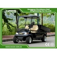 Wholesale A1H2 Black Cargo Freight Electric Utility Carts battery powered utility vehicles from china suppliers