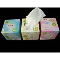 China Cube Box Facial Tissue on sale