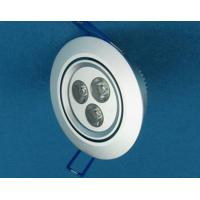 Wholesale Energy Saving 3 x 1W Recessed LED Downlight 270lm 60degree 2700K from china suppliers