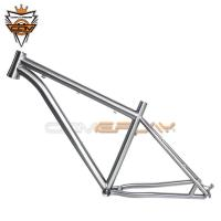 Buy cheap Anti Corrosion Mountain Bike Components 27.5er Titanium Cyclocross Frame from wholesalers