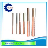Wholesale M10x1.5 EDM Tungsten Copper Tapping Electrodes (CuW) 68mmL For EDM Spark Machine from china suppliers