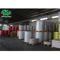 China Waterproof Matte Thermal Transfer Label Rolls PET PVC Adhesive Barcode Stickers on sale