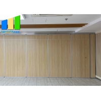 Wholesale Ballroom Fireproof Board Acoustic Mobile Partition Sliding Walls from china suppliers