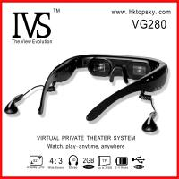 Wholesale 52inch digital video eyewear goggles, video, ebook, music support from china suppliers
