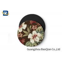 Wholesale Vivid Depth Effect 3D Floral Lenticular Coasters PET/ EVA Material Customized Size from china suppliers