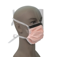 Wholesale 99% BFE Disposable Face Mask With Eye Shield from china suppliers