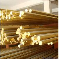 Quality C3602 Grade Brass Round Metal Rod , Free Cutting Brass Alloy Bar for sale