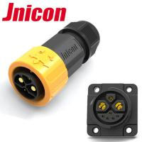 Buy cheap Jnicon M23 Push Lock 50A 500V Circular Waterproof Connector for E-Scooter from wholesalers