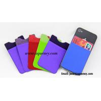 Wholesale New Style Lycra Smart wallet with 3M Sticker from china suppliers