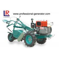 China 4 - Stroke Mini Harvester Tractor 9.7kw Diesel Power Rotary Tiller Single Cylinder on sale