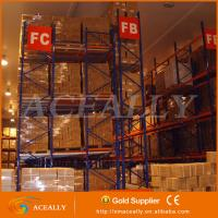 Wholesale Heavy Duty Push back pallet racking systems from china suppliers